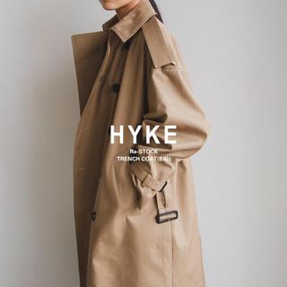 HYKE - 【新品タグ付き¥99,000】hyke トレンチコート ビッグ サイズ1