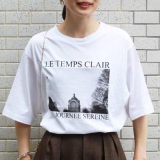 イエナ(IENA)のIENA イエナ Tシャツ paris photo Tシャツ(Tシャツ(半袖/袖なし))