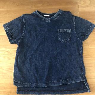 GU - Tシャツ130 GU  デニム風