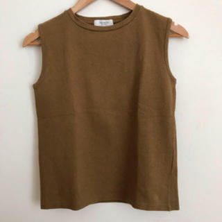 イエナ(IENA)の IENA ベルメイユパーイエナ Tシャツ カットソー ブラウン(Tシャツ(半袖/袖なし))