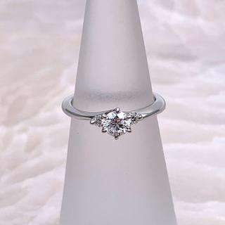 ★DIAMOND SHIRAISHI★ ダイヤリング 婚約指輪 D0.258ct(リング(指輪))
