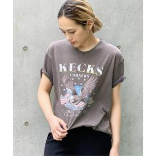 L'Appartement DEUXIEME CLASSE - AP STUDIO GOOD ROCK SPEED イーグルプリント Tシャツ