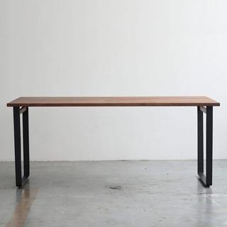 アクタス(ACTUS)の【直接引渡優先】ウォールナット 無垢ダイニングテーブル135(ダイニングテーブル)