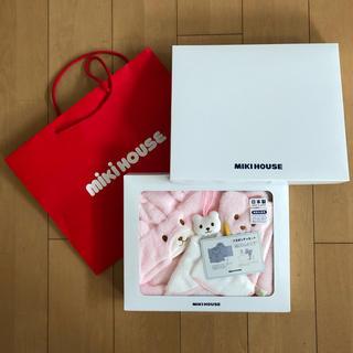 mikihouse - 新品未開封 ミキハウス バスポンチョセット