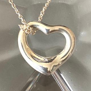ティファニー(Tiffany & Co.)のティファニー オープンハート Mサイズ ネックレス(ネックレス)