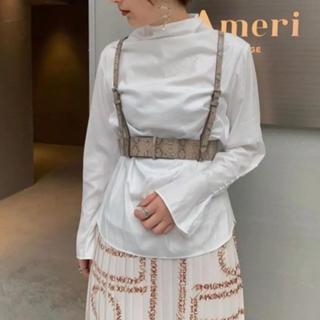 アメリヴィンテージ(Ameri VINTAGE)のameri vintage high neck blouse 店舗限定カラー(シャツ/ブラウス(長袖/七分))