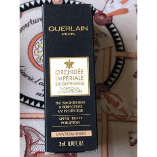 ゲラン(GUERLAIN)のオーキデ アンペリアル ザ プロテクター 3ml(化粧下地)