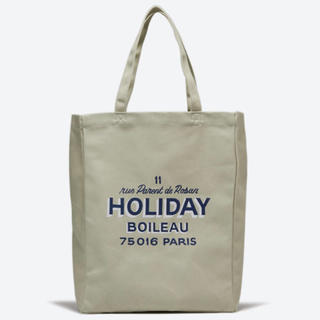 L'Appartement DEUXIEME CLASSE - HOLIDAY BOILEAU(ホリディ ボワロ)>  THE TOTE BAG