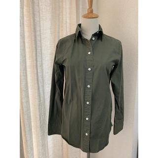 マディソンブルー(MADISONBLUE)のMADISONBLUEカーキシャツ(シャツ/ブラウス(長袖/七分))