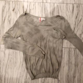 ジルスチュアート(JILLSTUART)のミントグリーン JILLSTUART 薄手セーター(ニット/セーター)