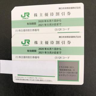 ジェイアール(JR)の JR東日本株主優待券 2枚セット(その他)