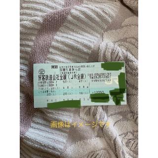 ジェイアール(JR)の説明注意 青春18きっぷ5回(鉄道乗車券)