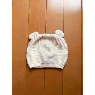 ベビーギャップ(babyGAP)のbaby GAP 耳付き ニット帽 6-12m 新品(帽子)