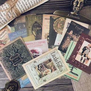 21♡海外♡ジャンクジャーナル♡シール 紙もの 詰め合わせ 21枚