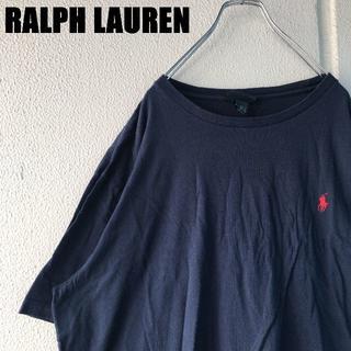 POLO RALPH LAUREN - RALPH LAUREN ワンポイント Tシャツ ネイビー