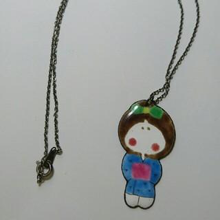 七宝焼き 女の子 ネックレス(ネックレス)