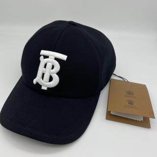 バーバリー(BURBERRY)のバーバリー BURBERRY 帽子 キャップ 新品 Mサイズ 即配送 ロゴ(キャップ)