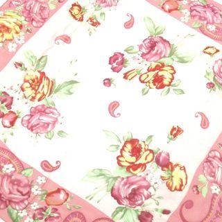 ラルフローレン(Ralph Lauren)のラルフローレン スカーフ美品  - 花柄(バンダナ/スカーフ)