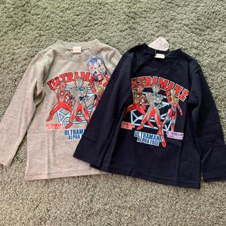 バンダイ(BANDAI)の新品 ウルトラマン ウルトラマンゼット Tシャツ 110 2枚セット(Tシャツ/カットソー)