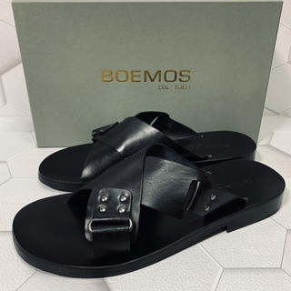 Boemos - BOEMOS   men's  レザーサンダル 26