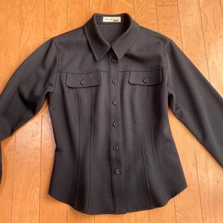 プライベートレーベル(PRIVATE LABEL)のプライベートレーベルの黒シャツ Private Lavel(シャツ/ブラウス(長袖/七分))