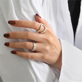 フィリップオーディベール(Philippe Audibert)のSILVER925 RING(人差し指)(リング(指輪))