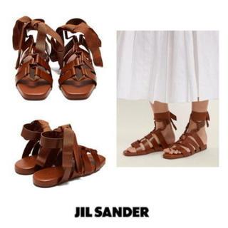 ジルサンダー(Jil Sander)のジルサンダー サンダル JILSANDER 未使用(サンダル)