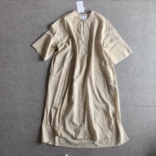 定価14040円 cloche ワンピース ビッグシルエットリネンワンピース(ロングワンピース/マキシワンピース)
