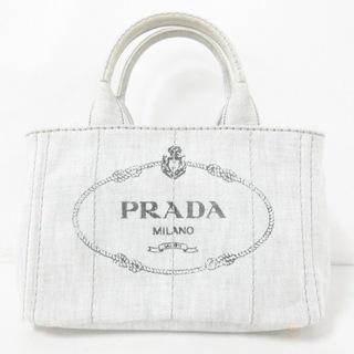 プラダ(PRADA)のプラダ トートバッグ CANAPA B2439G デニム(トートバッグ)