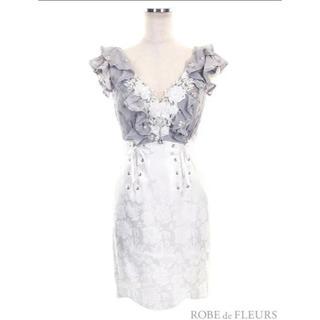 ROBE - 美品 ROBE de FLEURS ドレス キャバドレス S