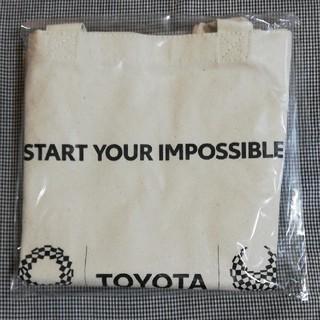 トヨタ(トヨタ)のトヨタ東京2020エコバッグ(ノベルティグッズ)