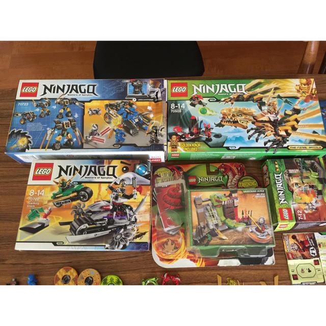 Lego(レゴ)のレゴニンジャゴー セット キッズ/ベビー/マタニティのおもちゃ(知育玩具)の商品写真