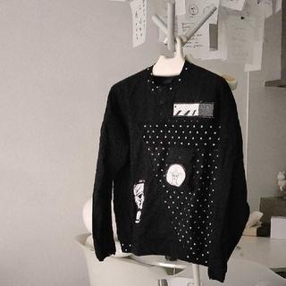 ベルンハルトウィルヘルム(BERNHARD WILLHELM)のベルンハルトウィルヘルム デザイン プルオーバーシャツ(Tシャツ(長袖/七分))