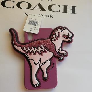 コーチ(COACH)の正規店購入 コーチ 希少レキシー iPhoneX/XS 携帯カバー 新品、タグ(iPhoneケース)