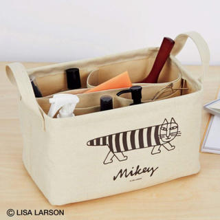 Lisa Larson - ⭐️新品⭐️【リサラーソン】仕切り上手な 収納ボックス★付録❗️