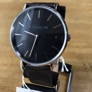 コーチ(COACH)の【新品】コーチ COACH 腕時計 メンズ 14602156 ブラウン(腕時計(アナログ))