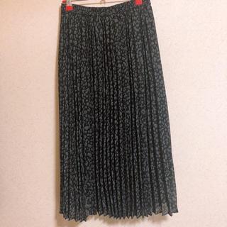 GU - GU プリーツスカート ロングスカート