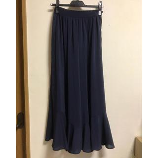 マーキュリーデュオ(MERCURYDUO)の裾フリルパンツ(カジュアルパンツ)