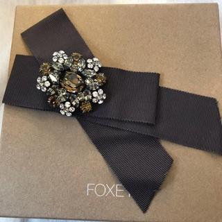 フォクシー(FOXEY)の美品💓フォクシー グログランリボン ブローチ  レアなお品です💓(ブローチ/コサージュ)