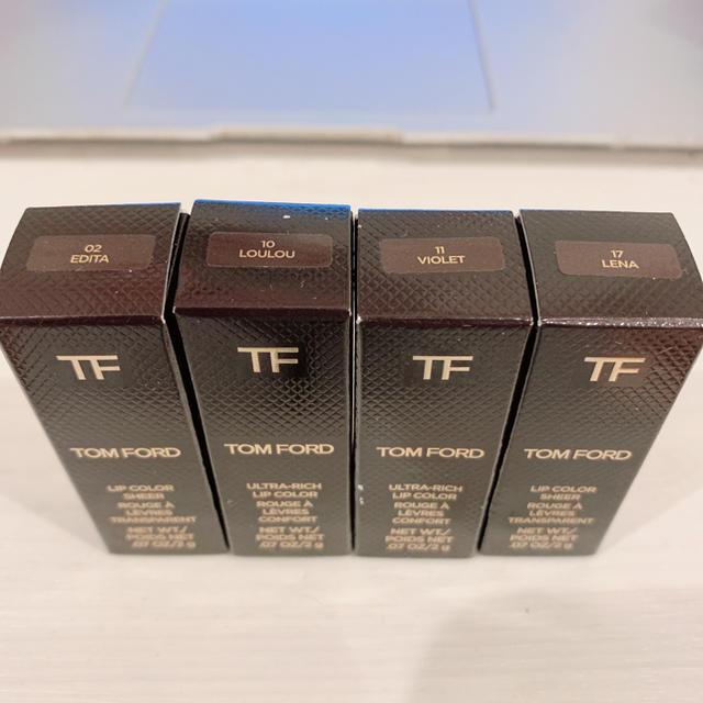 TOM FORD(トムフォード)の新品未使用TOM FORD トムフォード 口紅 ミニリップ セット コスメ/美容のベースメイク/化粧品(口紅)の商品写真