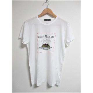 ドルチェアンドガッバーナ(DOLCE&GABBANA)の☆ドルチェアンドガッバーナ ドルガバ プリント Tシャツ/メンズ/44(S)(Tシャツ/カットソー(半袖/袖なし))