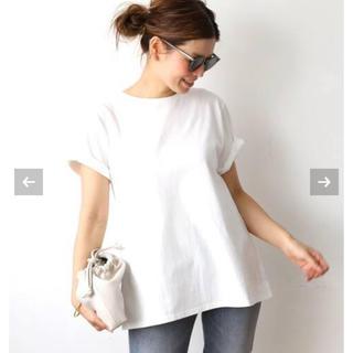 DEUXIEME CLASSE - 新品未使用 【CALUX/キャラクス】 A LINE Tシャツ ホワイト