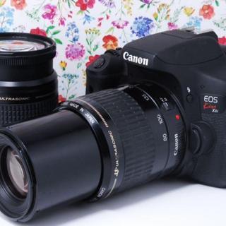 Canon - ★高画質でかんたん操作★Canon kiss x8i ダブルレンズセット