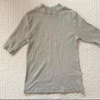 ムジルシリョウヒン(MUJI (無印良品))の半袖トップス(カットソー(半袖/袖なし))