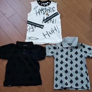 ヒステリックミニ(HYSTERIC MINI)の100セット(Tシャツ/カットソー)