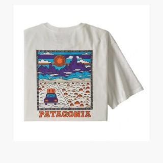 patagonia - Mサイズ patagonia メンズ・サミット・ロード・オーガニック・Tシャツ