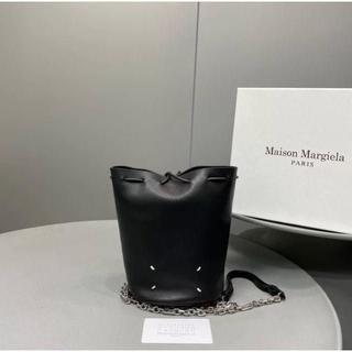 Maison Martin Margiela - マルジェラ バケットバッグ tabi バッグ ショルダー ブラック 新品未使用