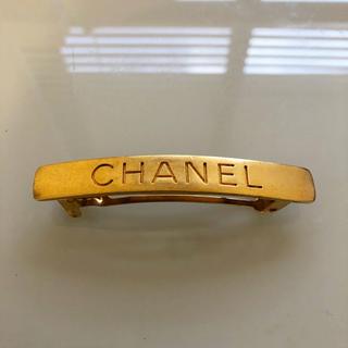 CHANEL - 正規品 CHANEL バレッタ ロゴ