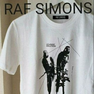 ラフシモンズ(RAF SIMONS)のRAF SIMONS limite dedition TシャツsizeXS(Tシャツ/カットソー(半袖/袖なし))