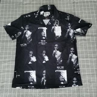WACKO MARIA - 人気品WACKO MARIA&BOB MARLEY シャツ ブラック メンズ